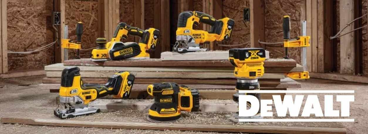 More about Dewalt power tools at M&M