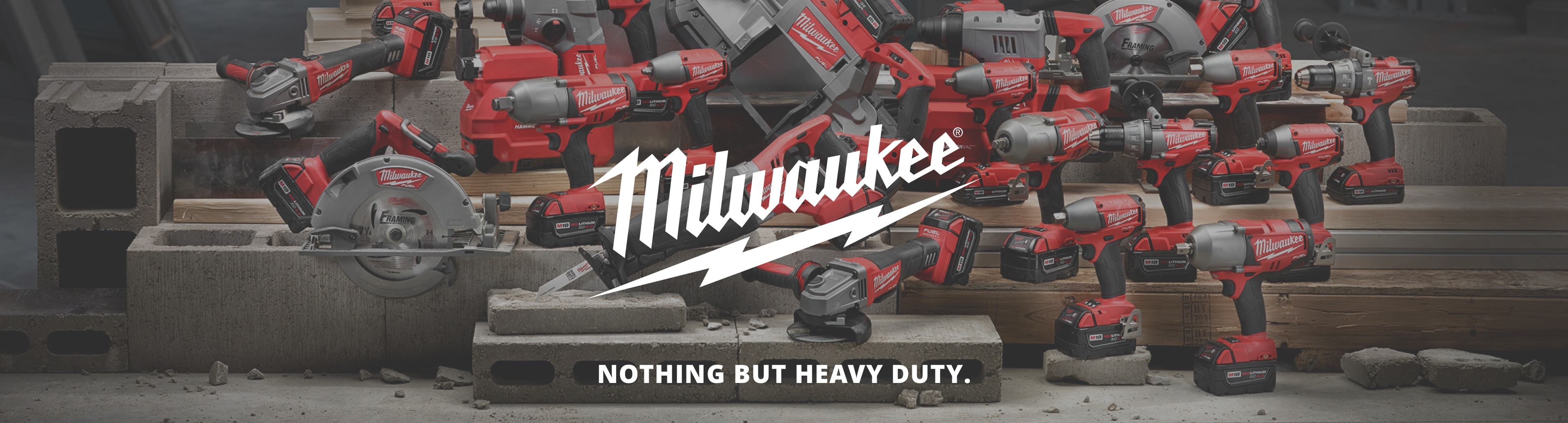 More about Milwaukee power tools at M&M
