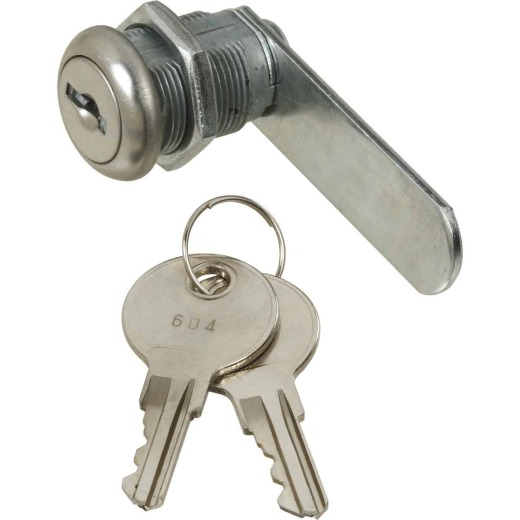 National VKA825 1/2 In. Chrome Utility Lock