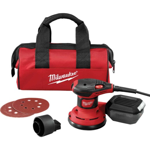 Milwaukee 5 In. 3.0A Random Orbit Sander