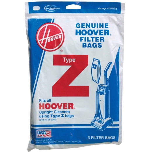 Hoover Type Z Standard Vacuum Bag (3-Pack)