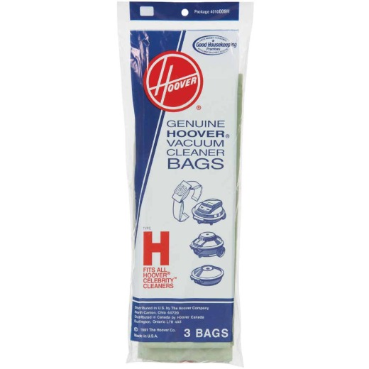 Hoover Type H Standard Vacuum Bag (3-Pack)