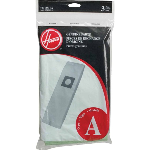 Hoover Type A Standard Vacuum Bag (3-Pack)