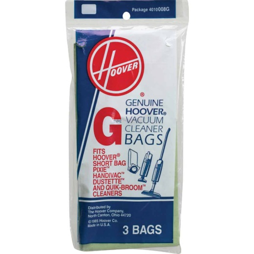 Hoover Type G Standard Vacuum Bag (3-Pack)